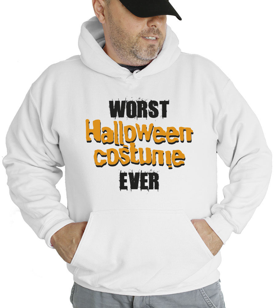 Worst Halloween Costume Ever Hooded Sweatshirt