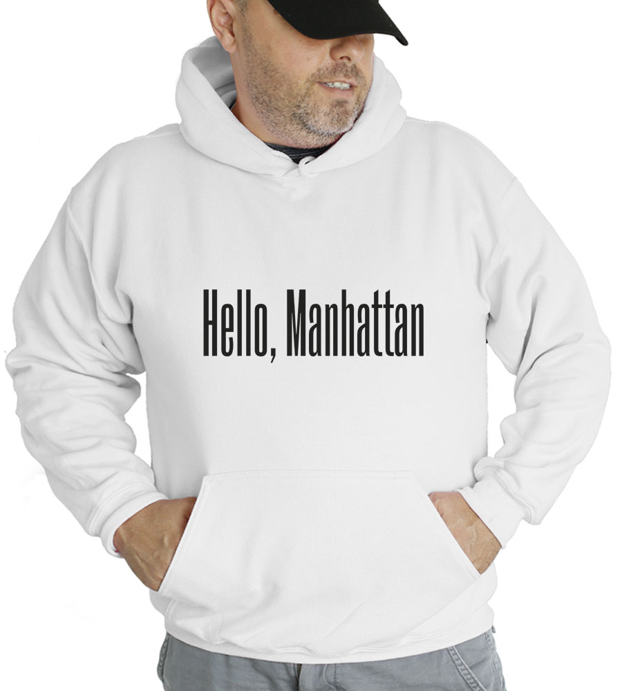 Hello, Manhattan Hooded Sweatshirt