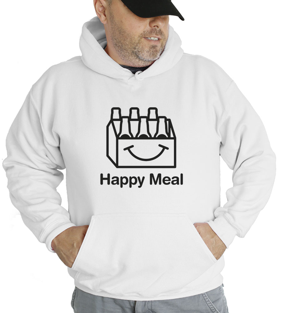 Happy Meal Beer Hooded Sweatshirt