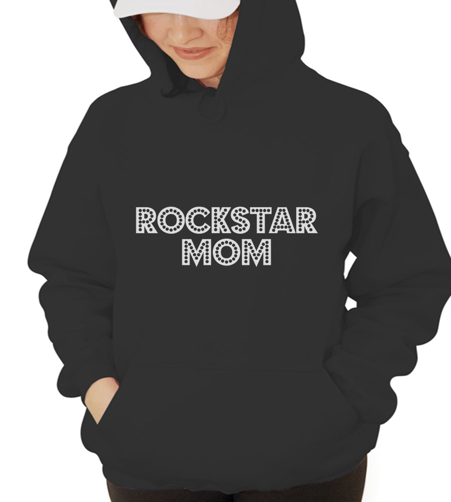 Rockstar Mom Hooded Sweatshirt