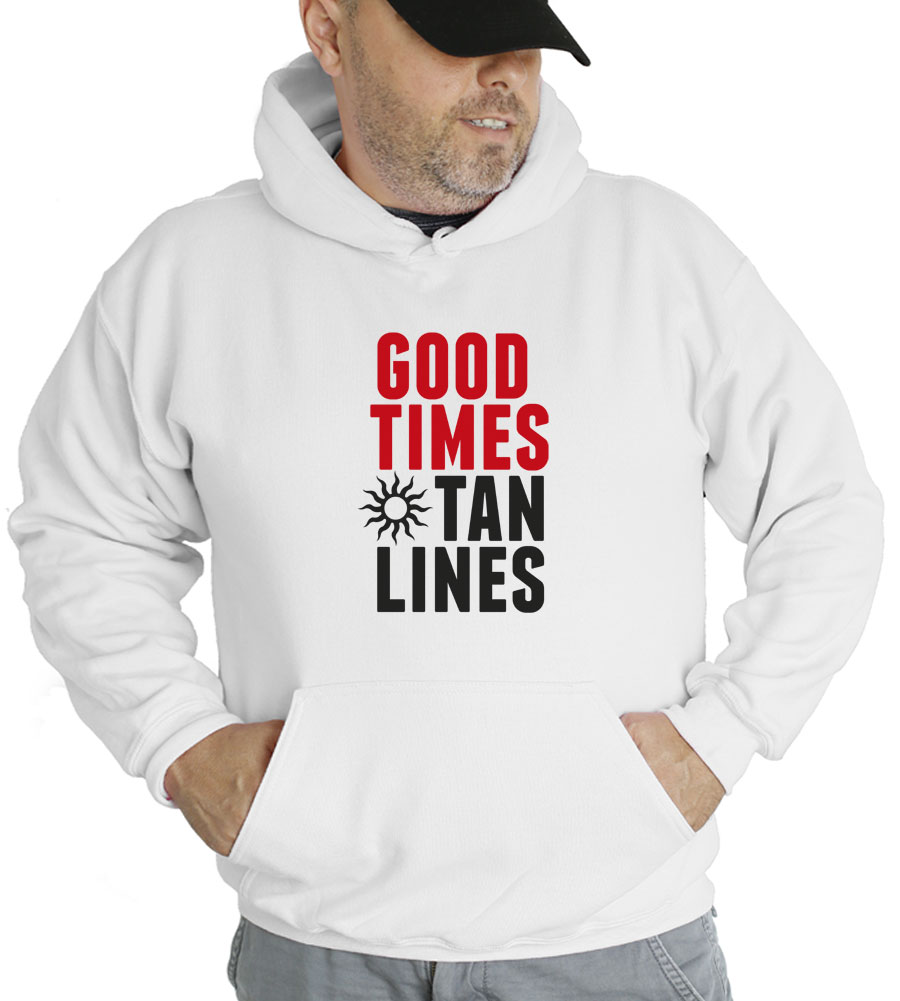 Good Times Tan Lines Hooded Sweatshirt
