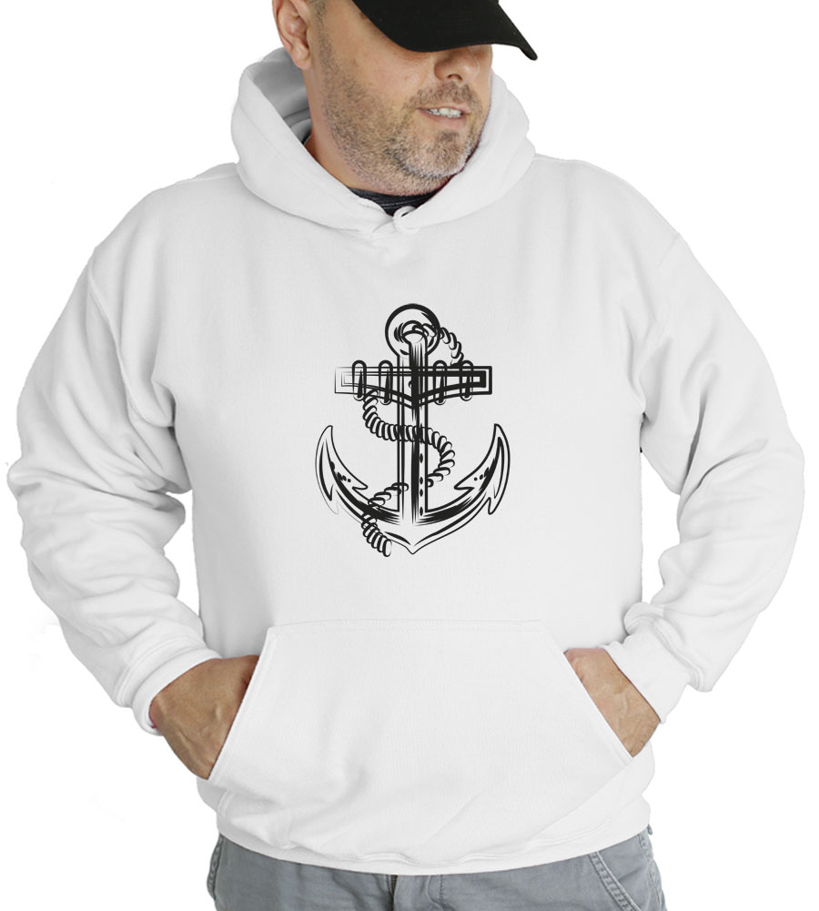 Anchor Hooded Sweatshirt