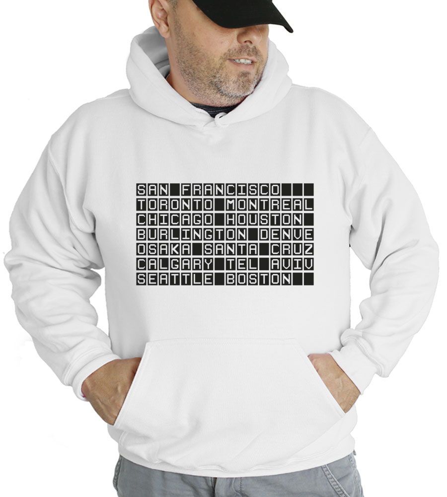 San Francisco Toronto Cities Hooded Sweatshirt