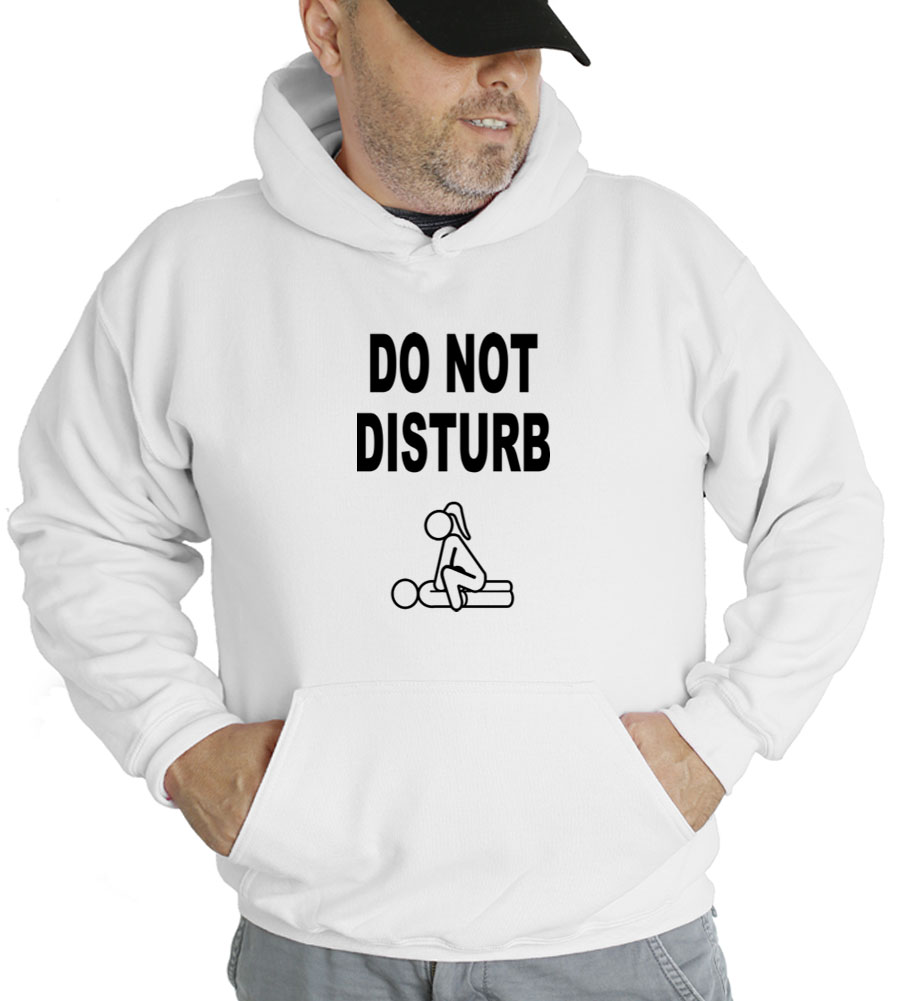 Do Not Disturb Hooded Sweatshirt