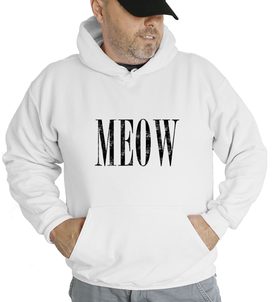 Meow Hooded Sweatshirt