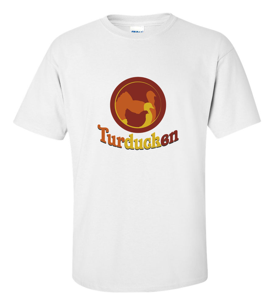 Turducken Thanksgiving T-Shirt