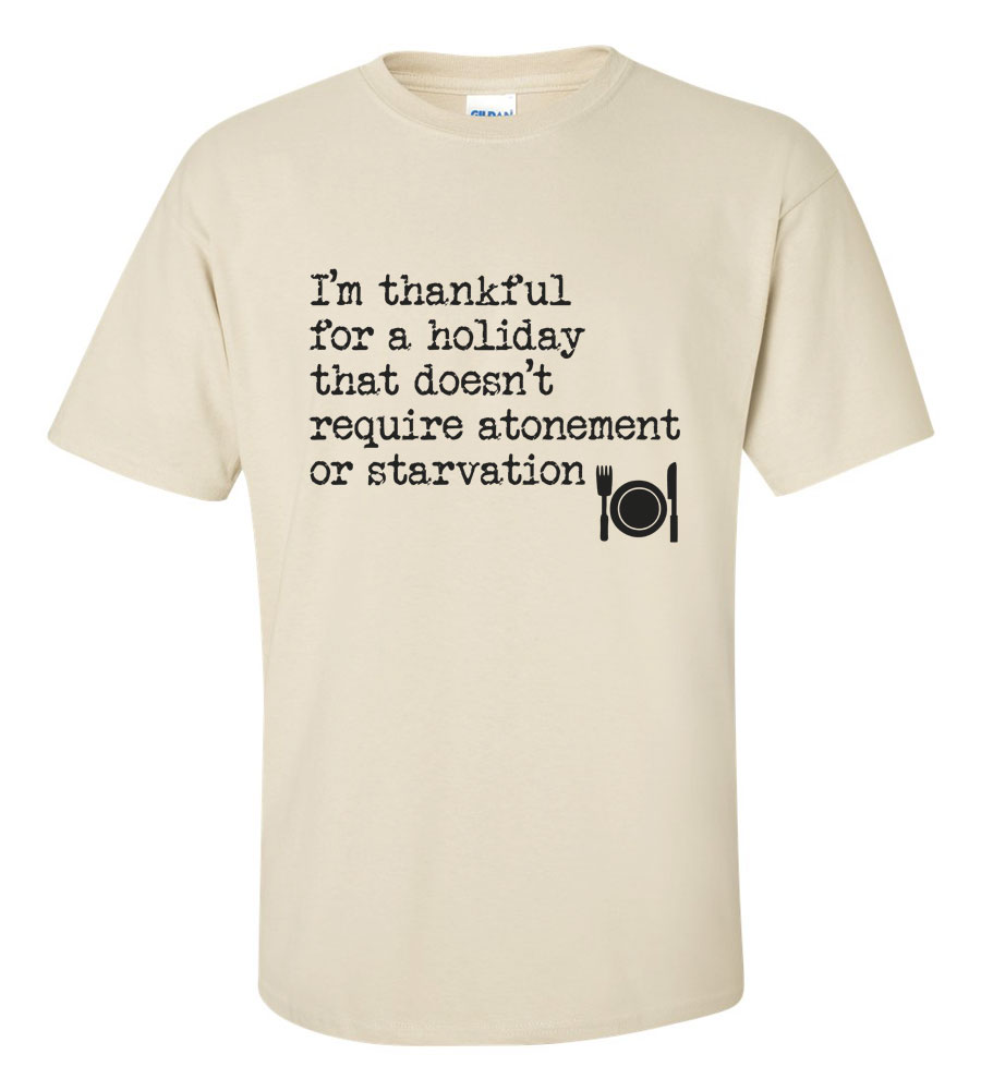I'm Thankful Thanksgiving T-Shirt