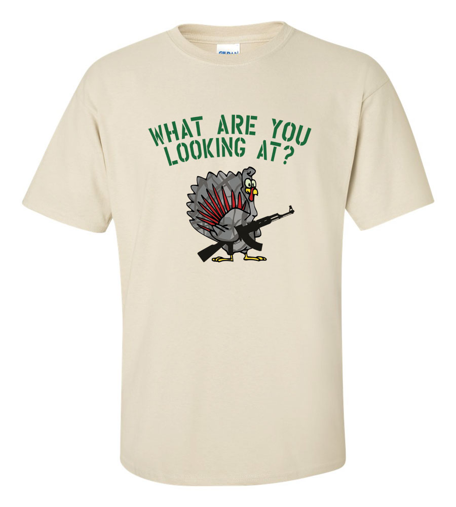 What Are You Looking At? Thanksgiving T-Shirt