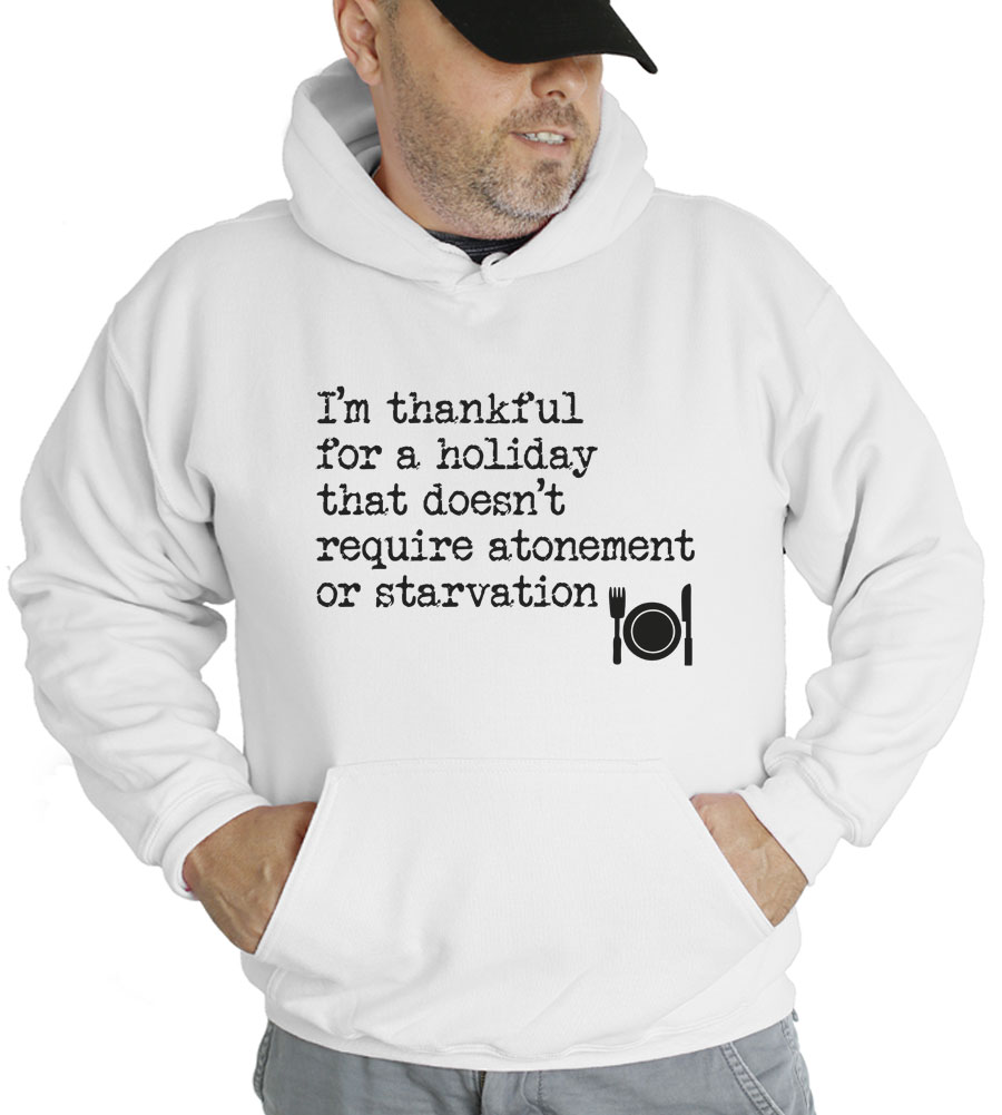 I'm Thankful Thanksgiving Hooded Sweatshirt