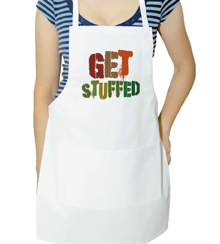 Get Stuffed Thanksgiving  Apron