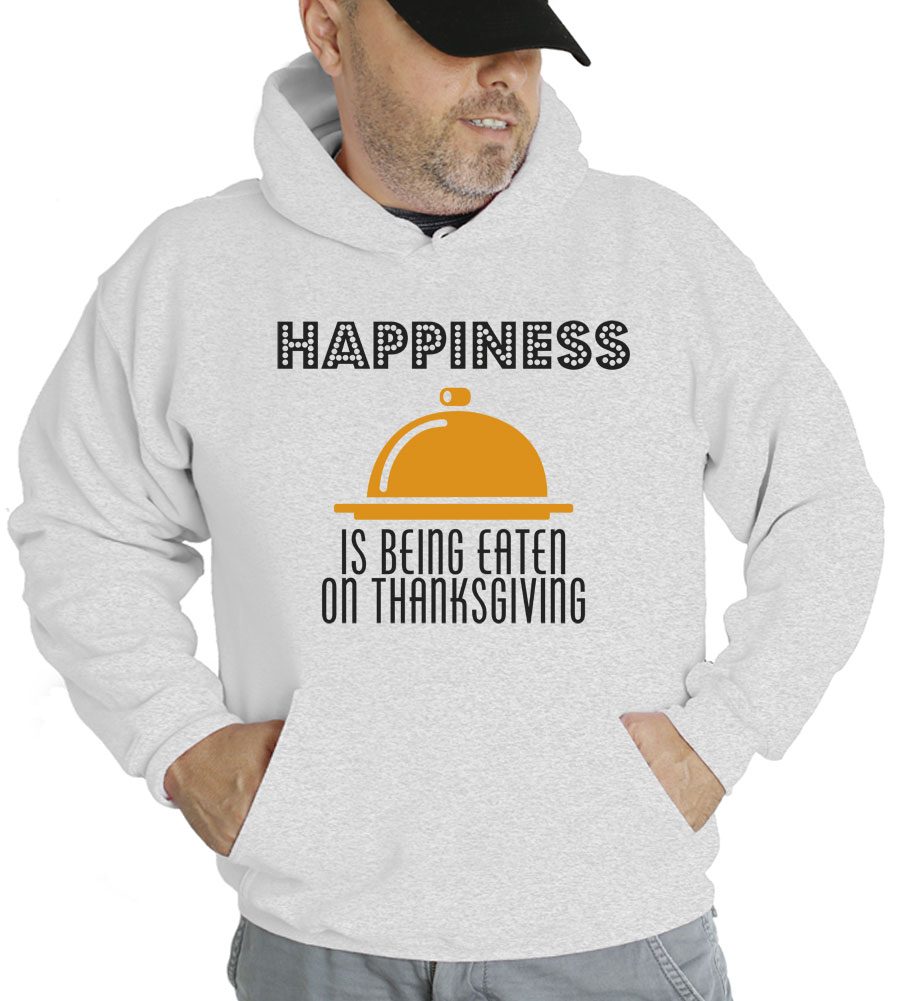 Happy Thanksgiving? I Hope You Choke Hooded Sweatshirt