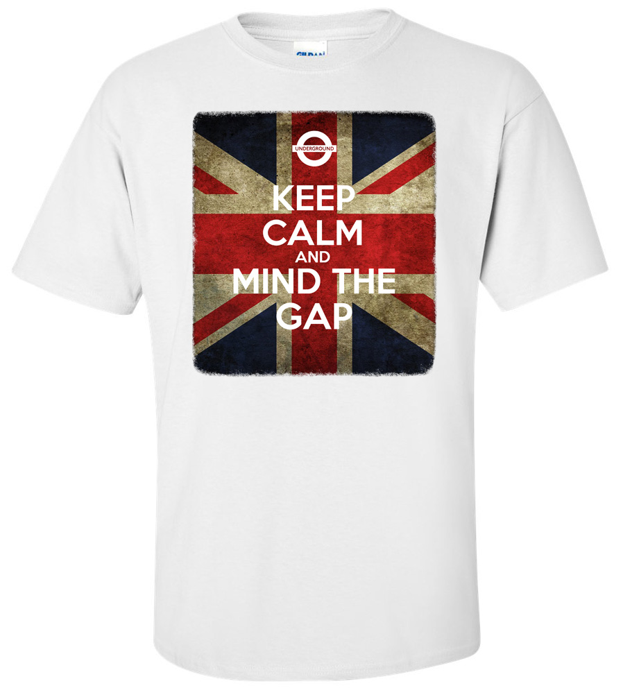 UNDERGROUND KEEP CALM AND MIND THE GAP T-shirt