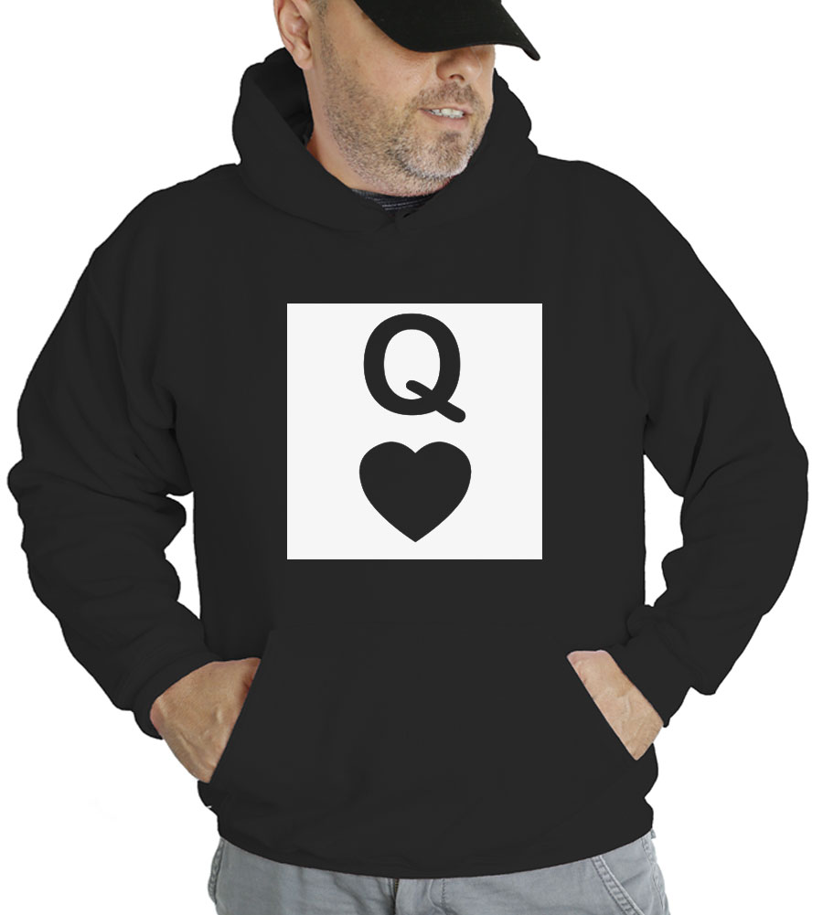 Heart Queen Hooded Sweatshirt
