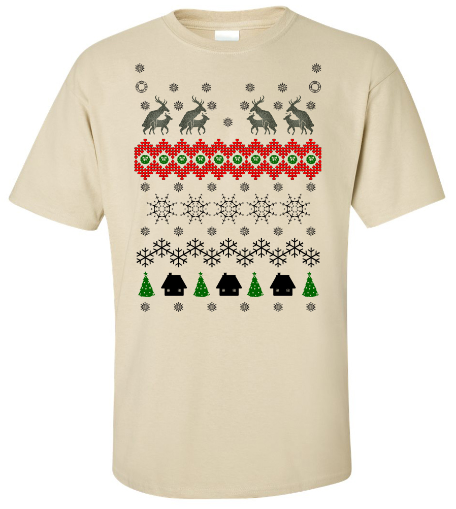 Humping Moose Holiday Sweater T Shirt funny ugly Christmas sweater shirt