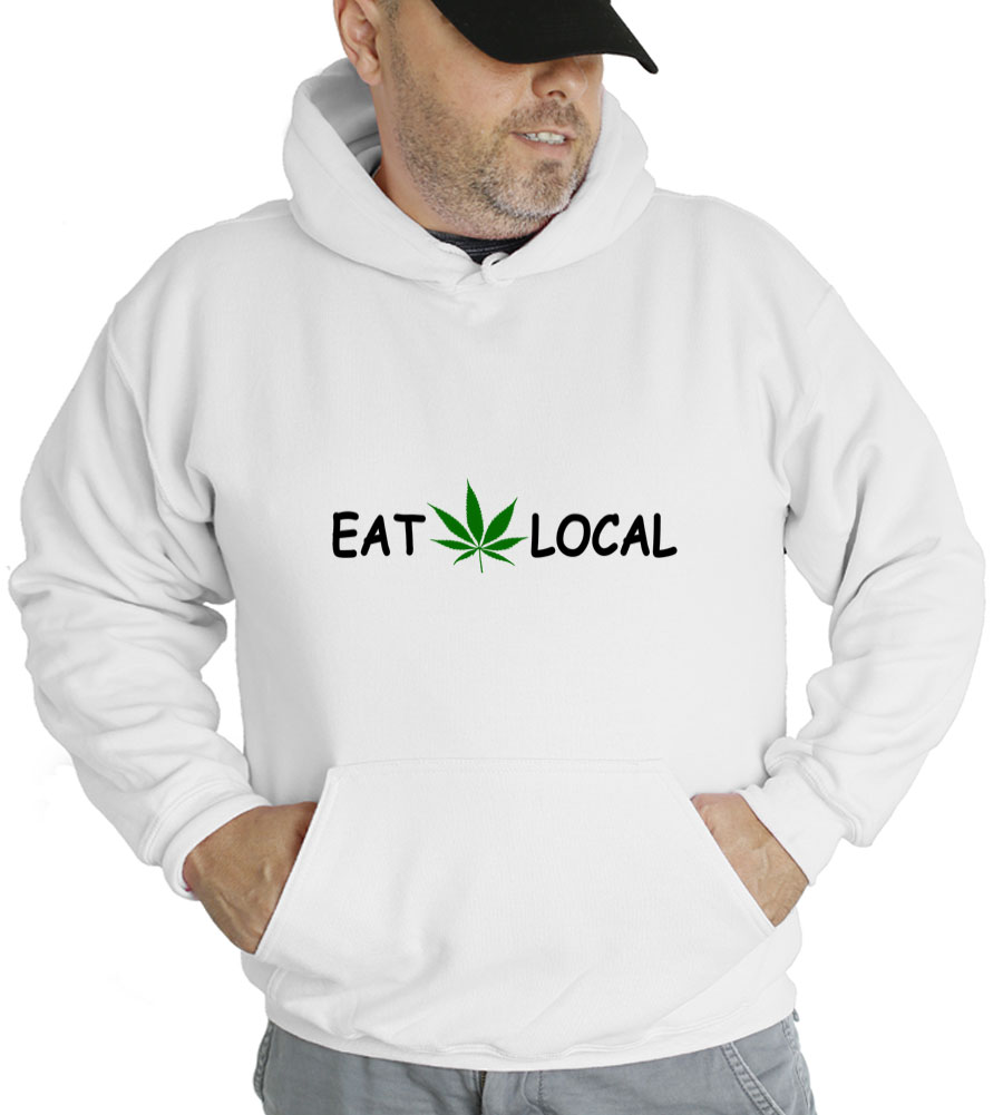 Eat p.o.t. Local Hooded Sweatshirt