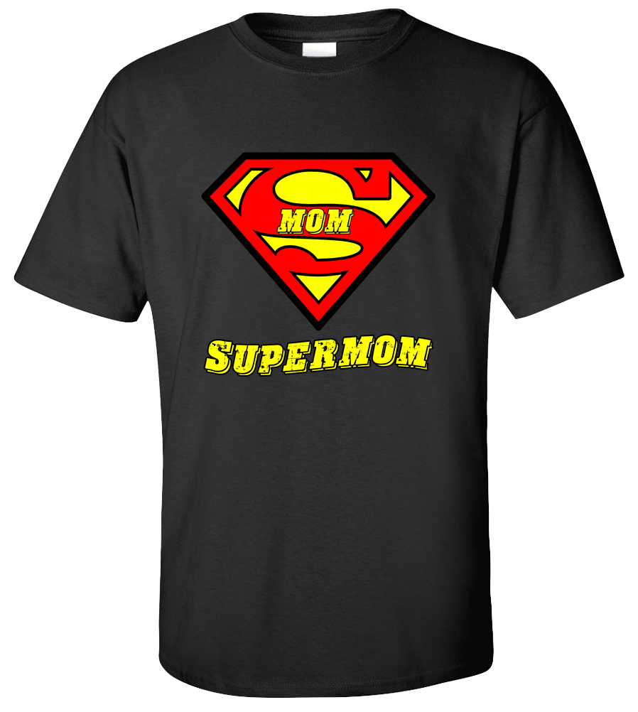 SuperMom T-shirt Superman Tee