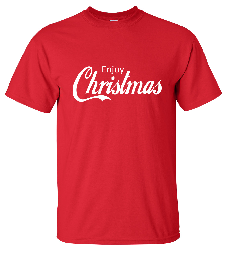 Enjoy Christmas T-shirt Coca Cola Tee
