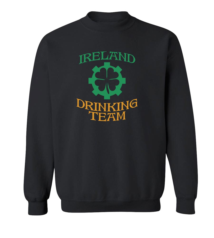 Ireland Drinking Team St. Patrick's Day Crew Neck Sweatshirt