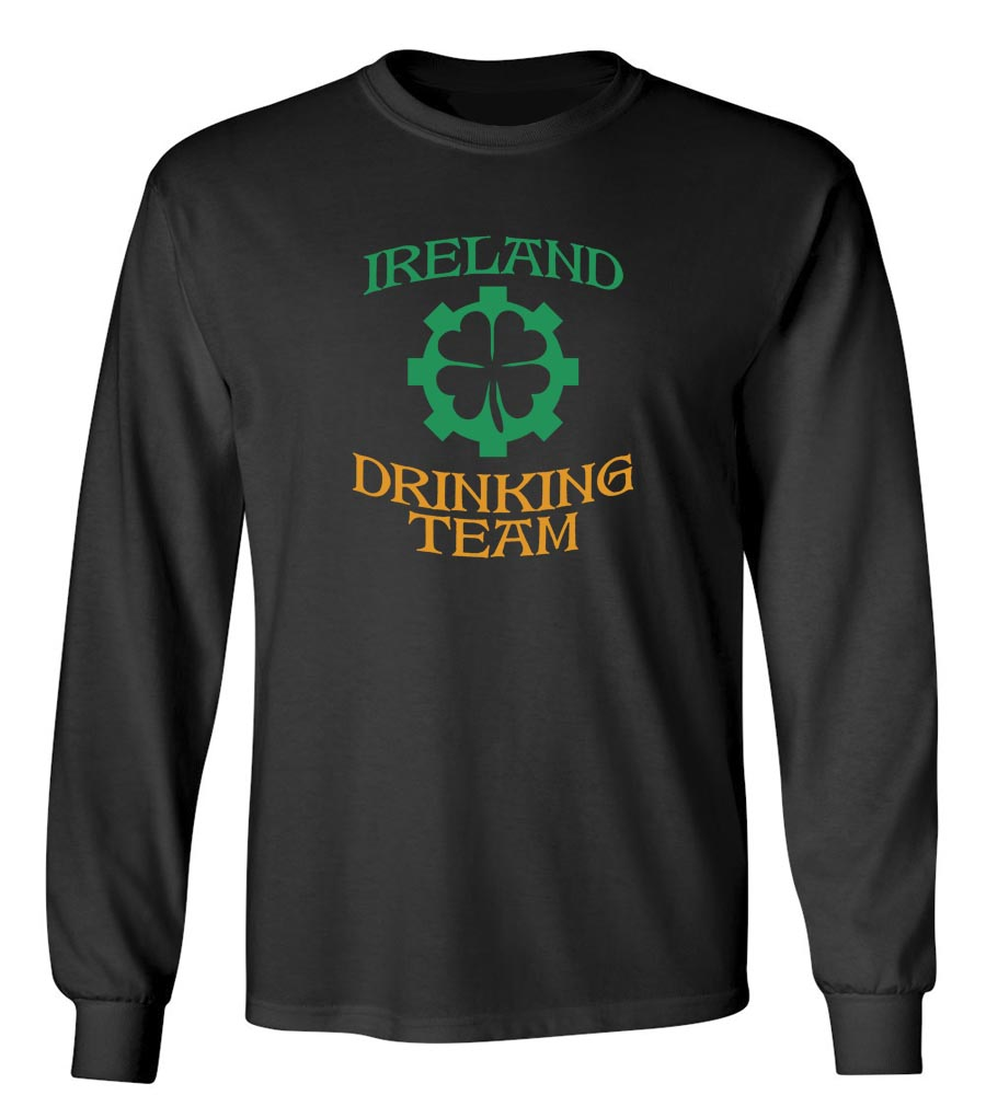 Ireland Drinking Team St. Patrick's Day Long Sleeve T-Shirt