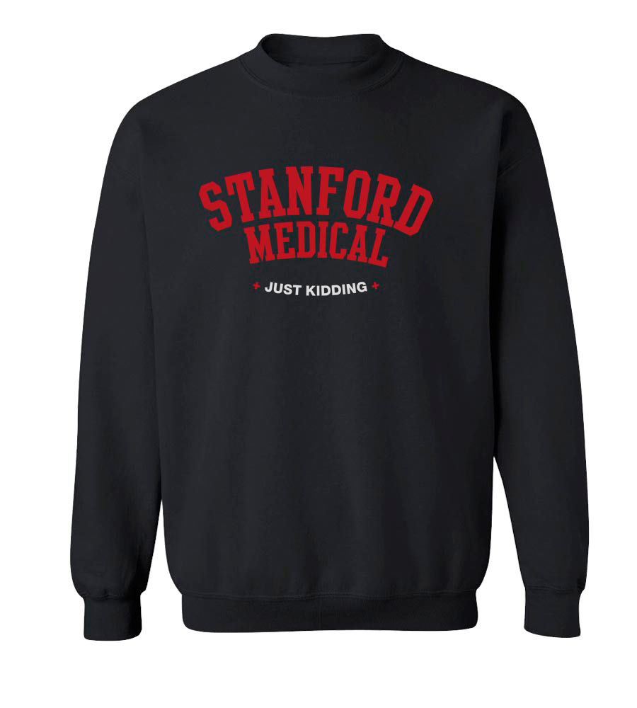 Stanford Medical Crew Neck Sweatshirt
