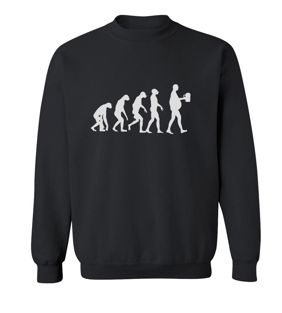 Evolution Beer Crew Neck Sweatshirt