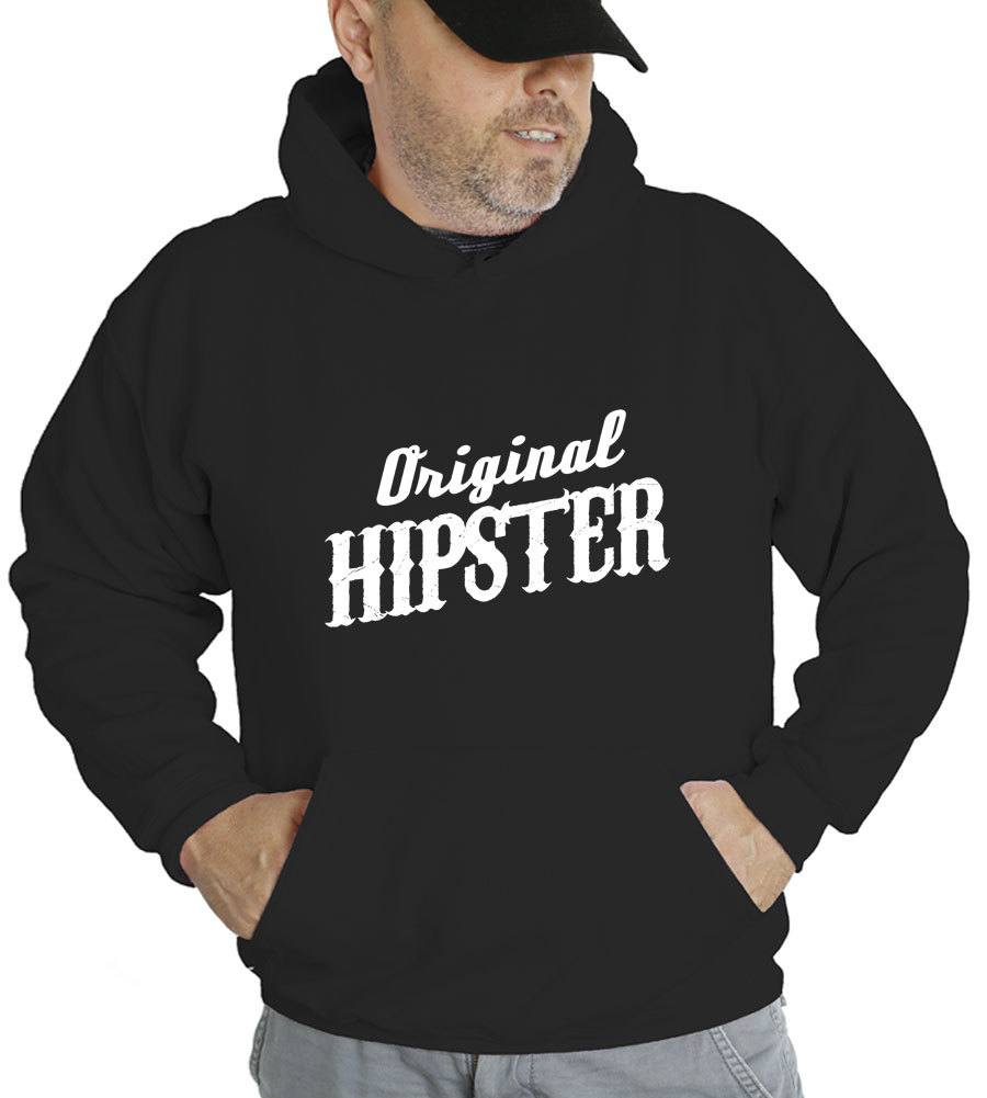 Original Hipster Hooded Sweatshirt