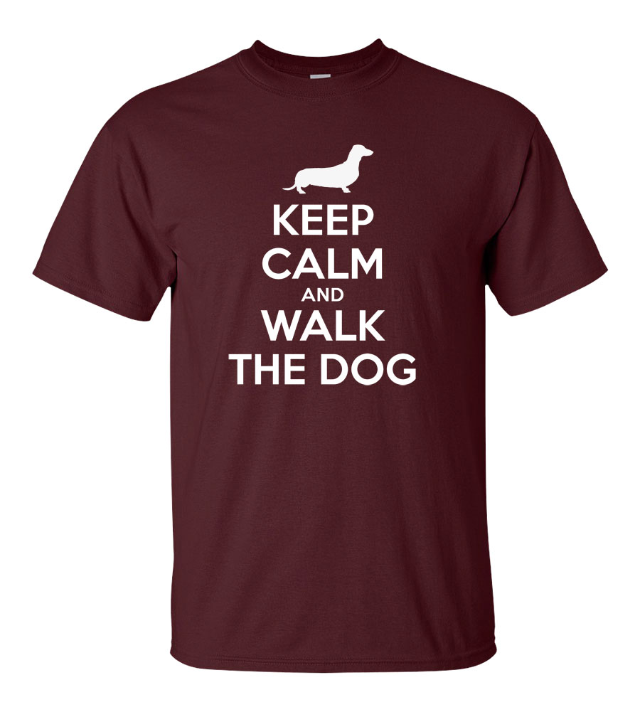 Keep Calm and Walk the Dog Hooded Sweatshirt