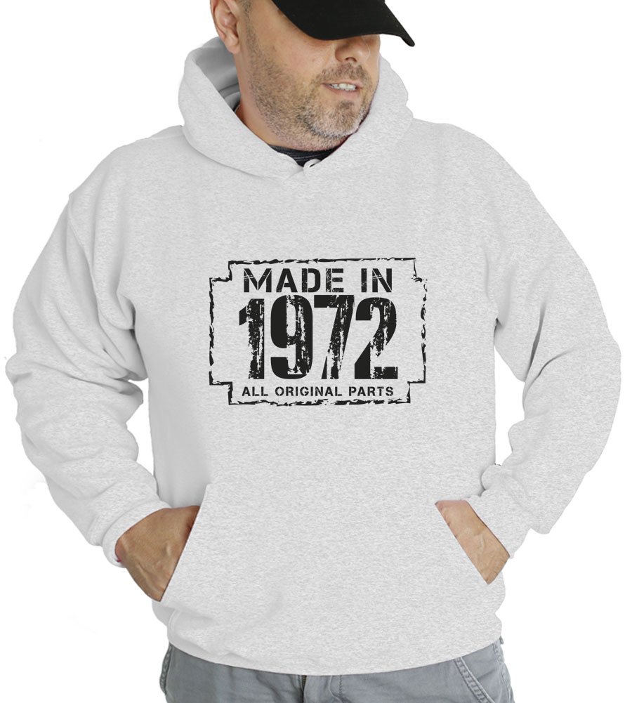 Made in 1972 Hooded Sweatshirt