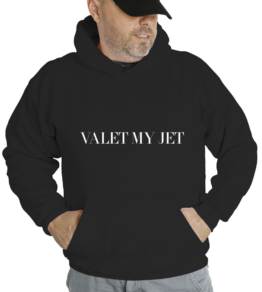 Valet My Jet Hooded Sweatshirt