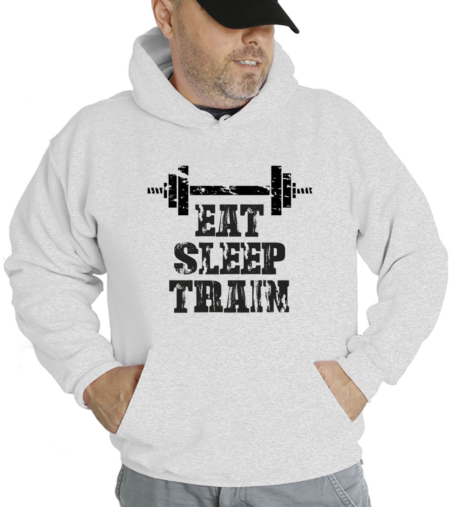 Eat Sleep Train Hooded Sweatshirt