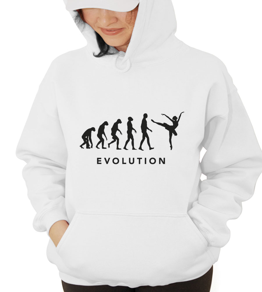 Evolution Dance Hooded Sweatshirt