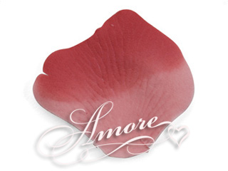 600 Silk Rose Petals Rio Red (Pink and Red)