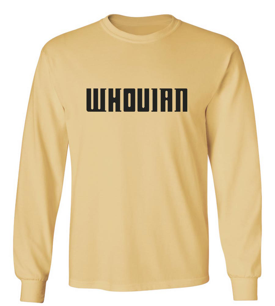 Whovian Long Sleeve T-Shirt