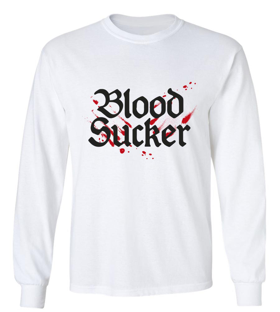 Halloween Blood Sucker Long Sleeve T-Shirt