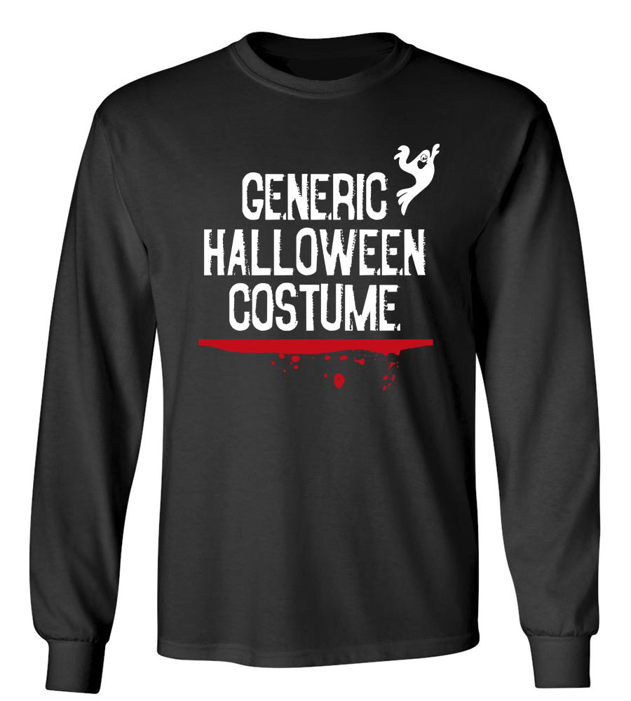 Generic Halloween Costume Long Sleeve T-Shirt