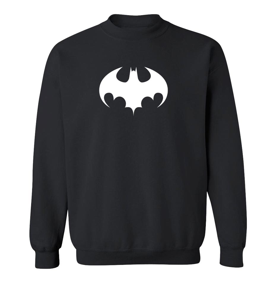 Batman Logo Crew Neck Sweatshirt