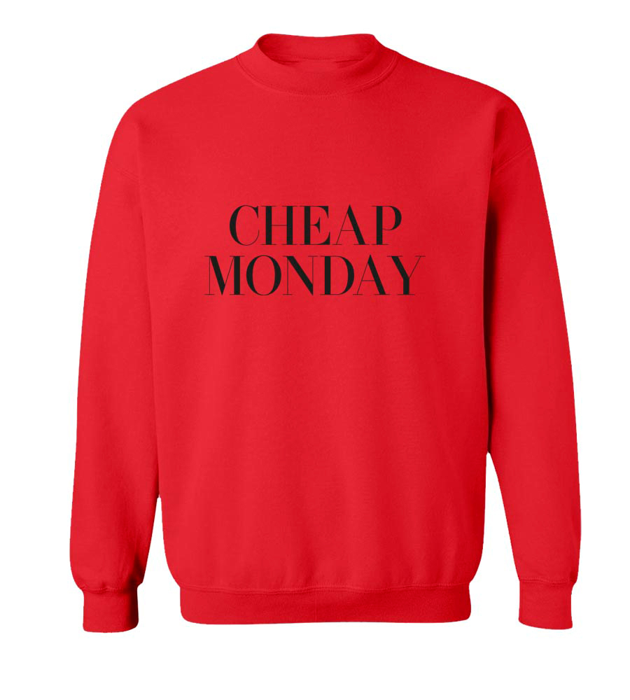 Cheap Monday Crew Neck Sweatshirt