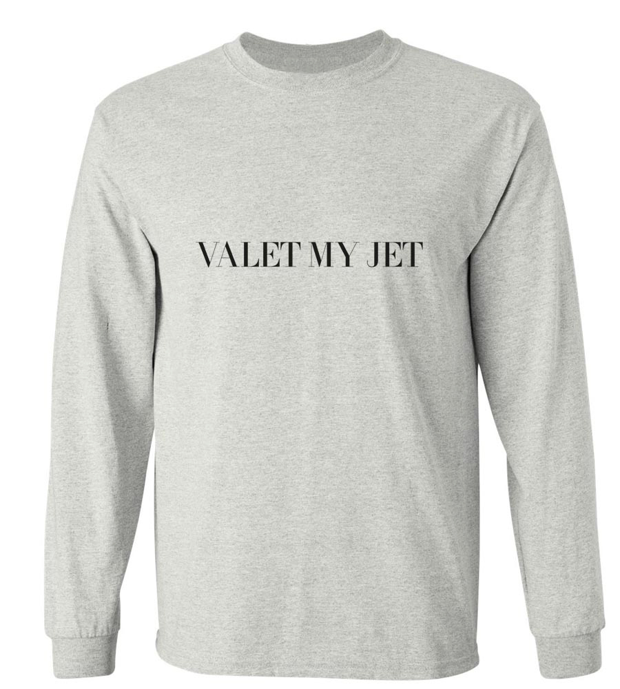 Valet My Jet Long Sleeve T-Shirt