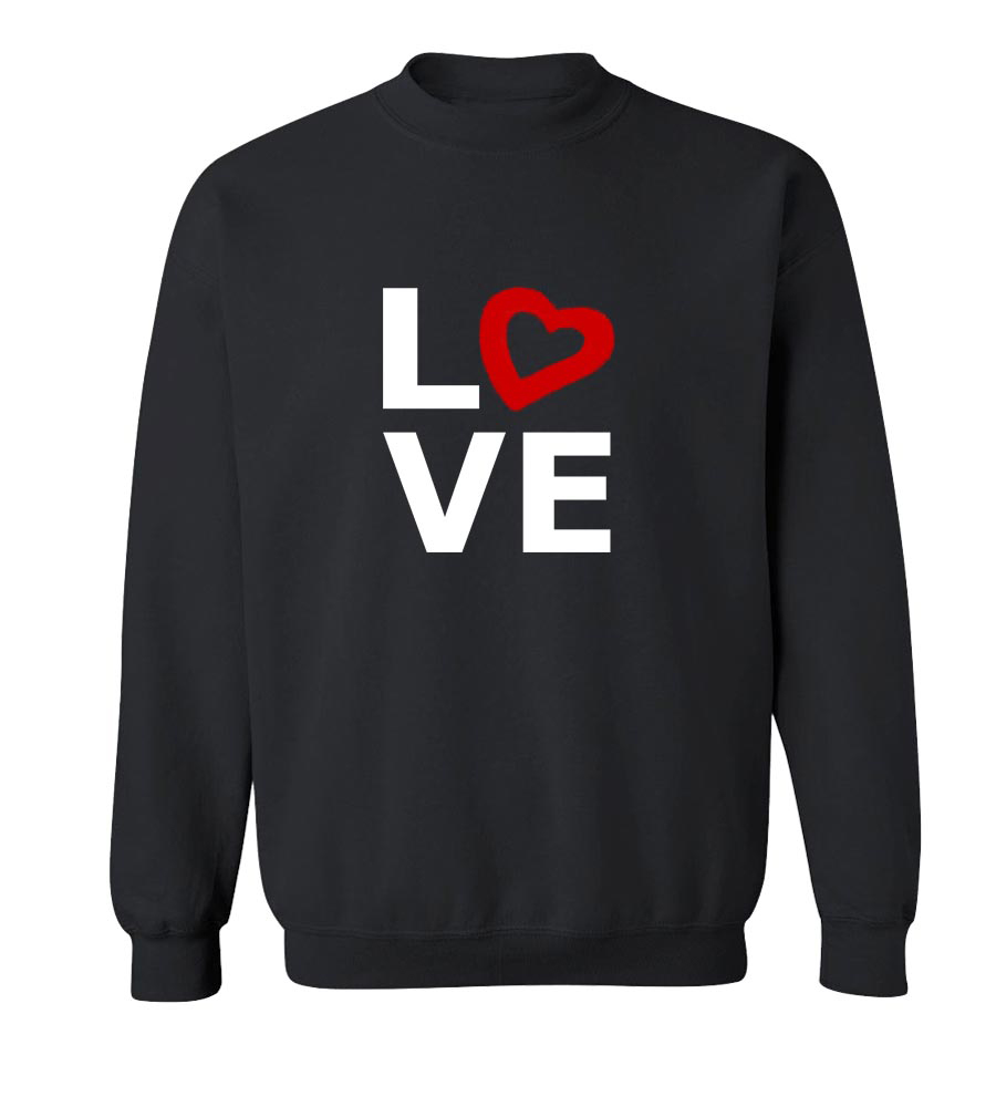 St. Valentine's Day Love Crew Neck Sweatshirt