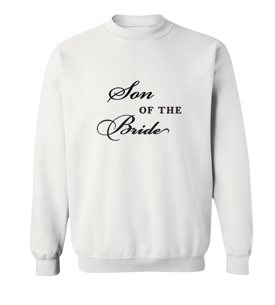 Son of the Bride Crew Neck Sweatshirt
