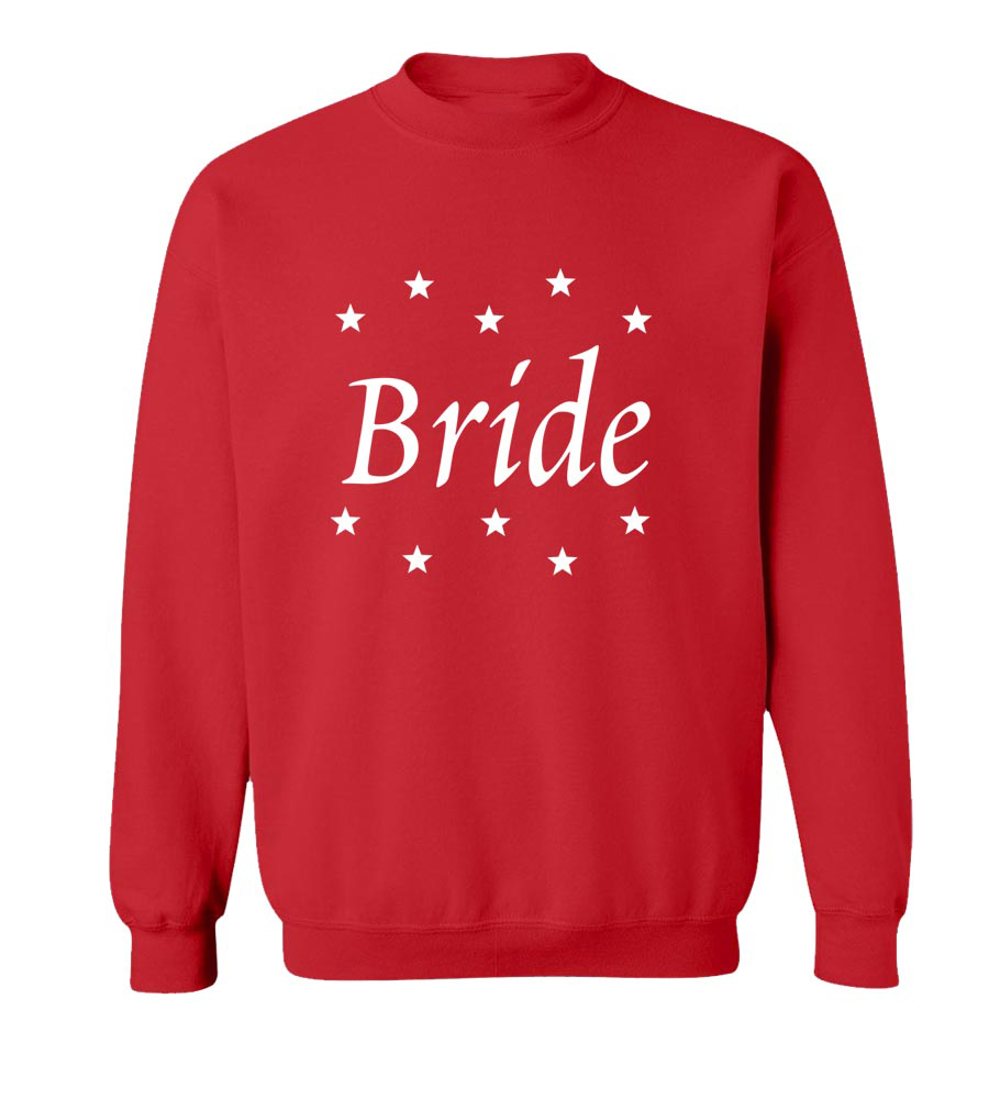 Bride Star Crew Neck Sweatshirt