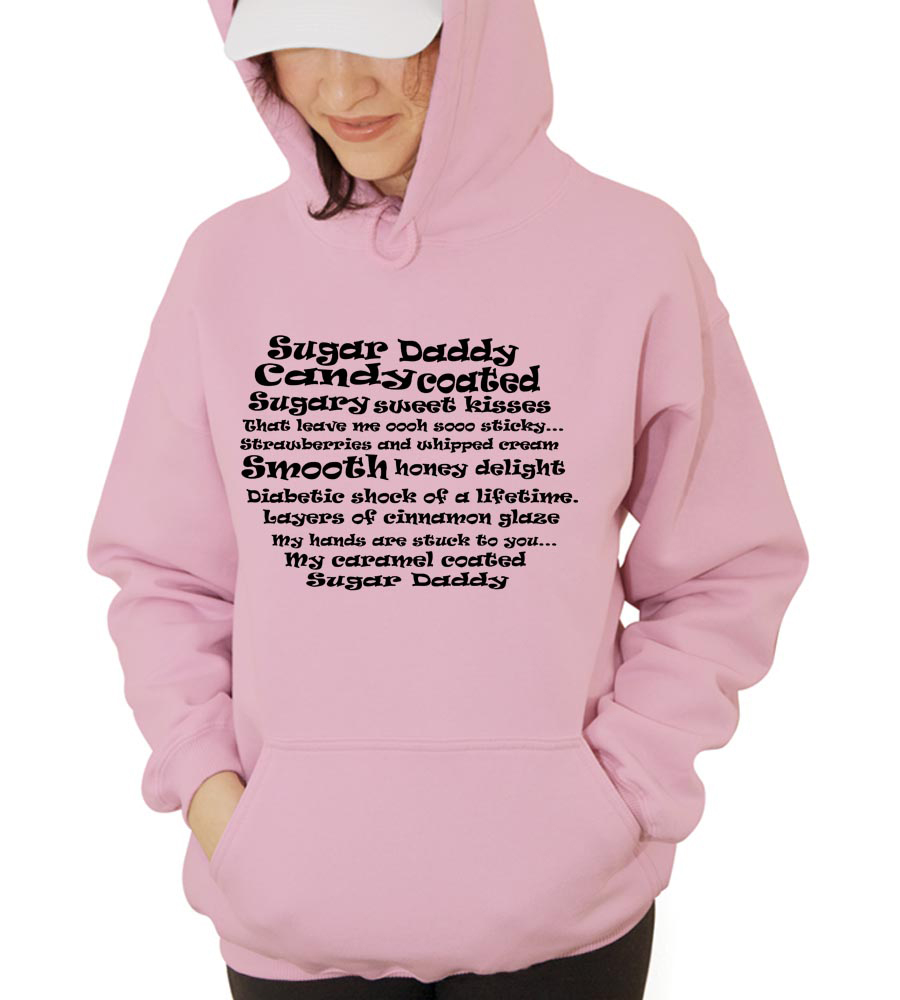 Sugar Daddy Candy Coated Hooded Sweatshirt