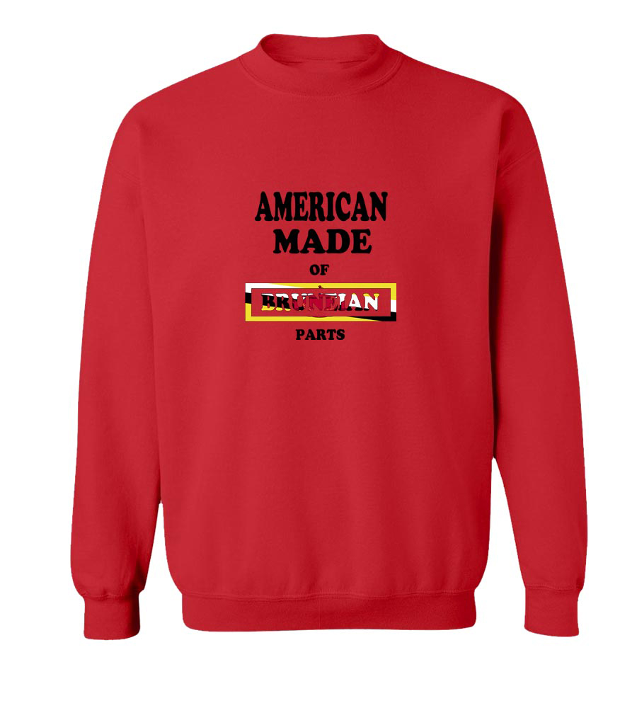 American Made Of Brunei Parts crew neck Sweatshirt