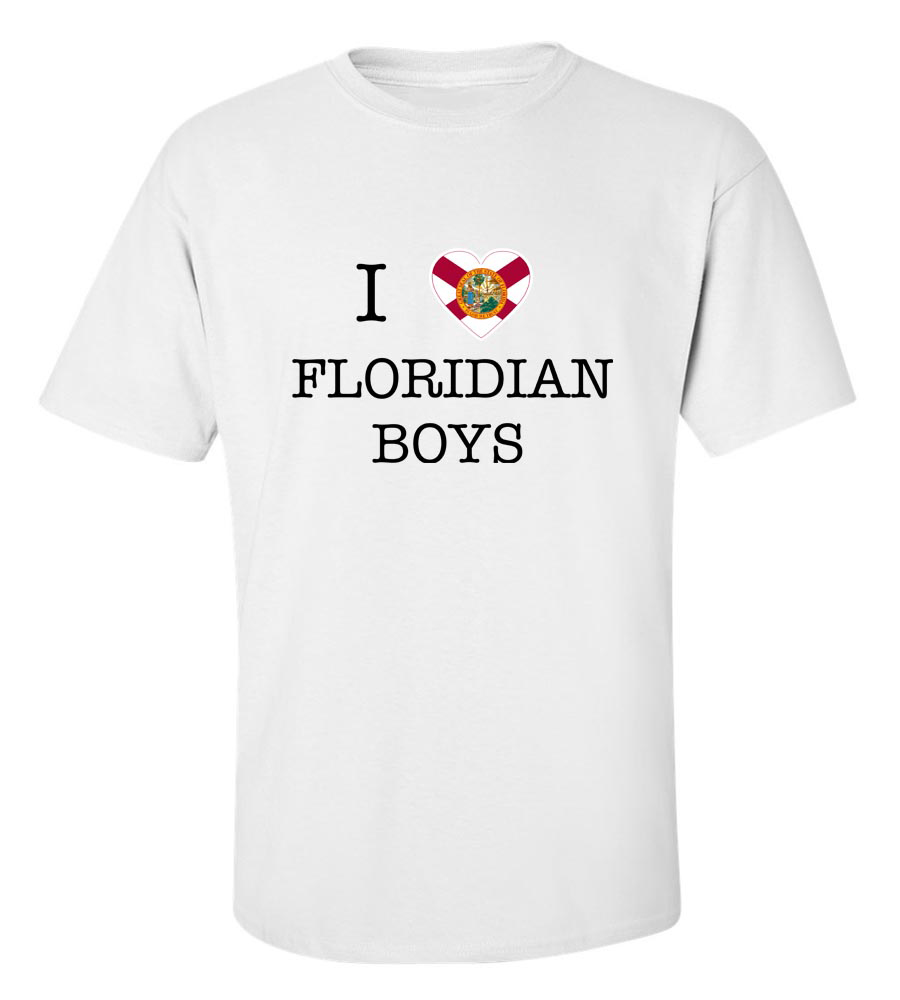 I Love Florida Boys T-Shirt