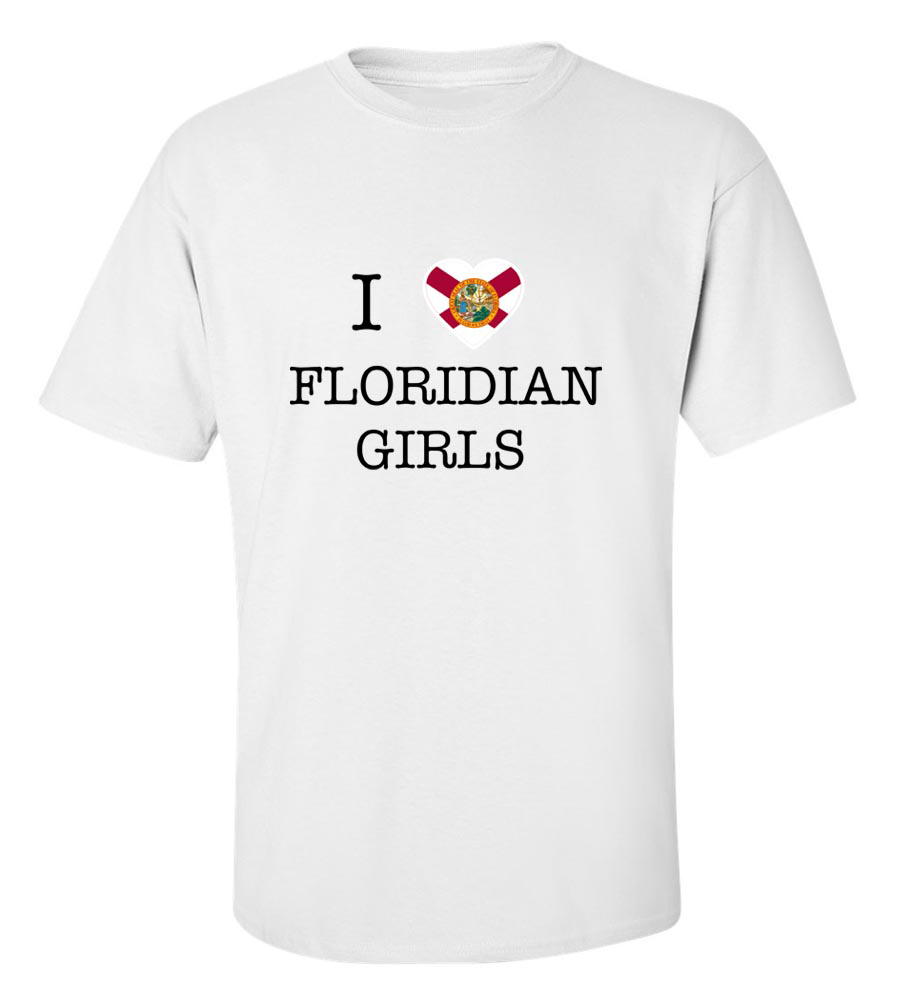 I Love Florida Girls T-Shirt