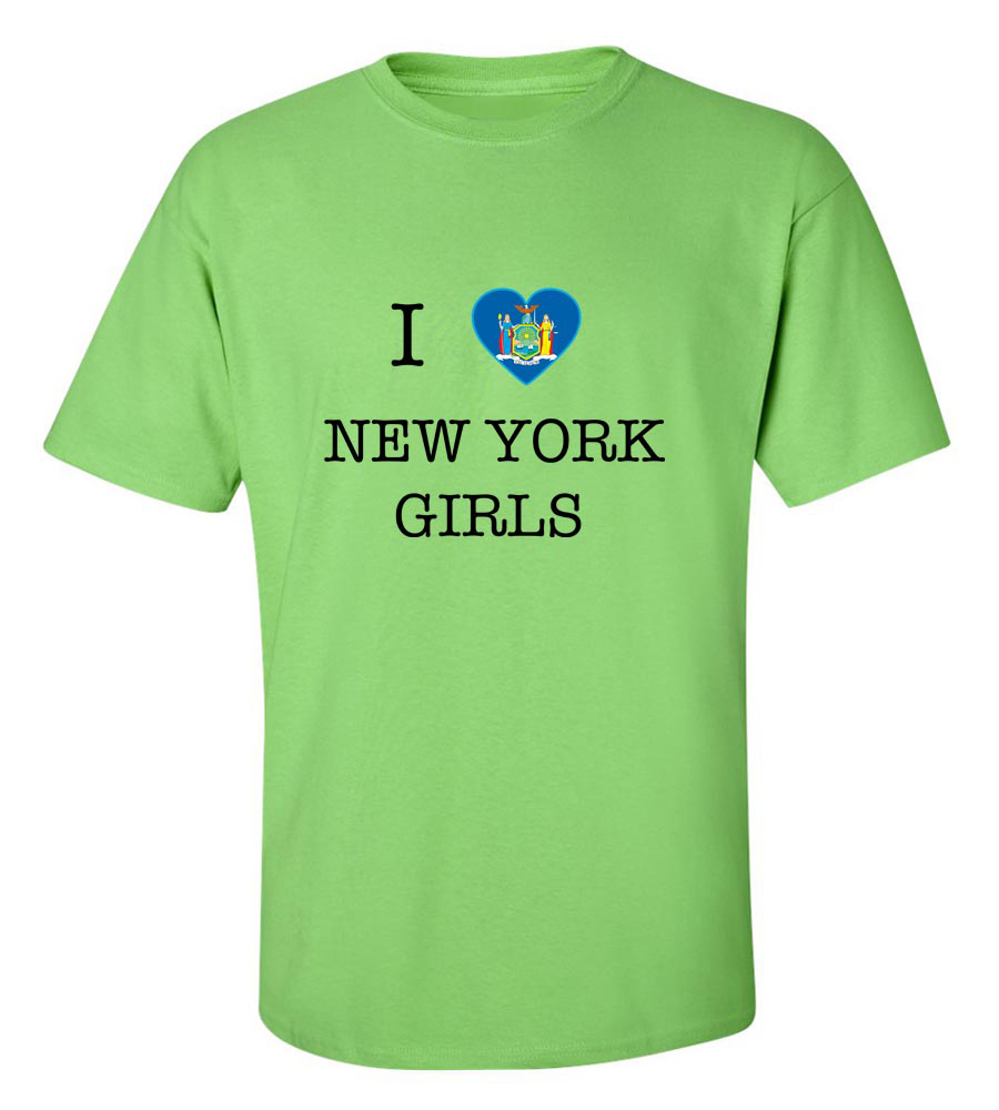 I Love New York Girls T-Shirt