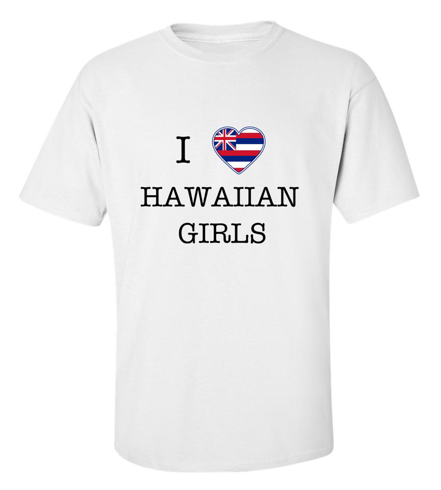 I Love Hawai Girls T-Shirt