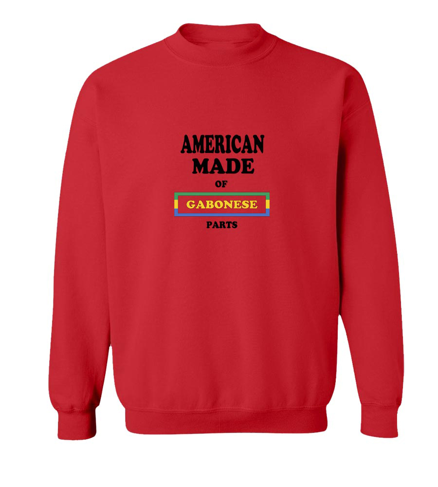 American Made Of Gabon Parts crew neck Sweatshirt