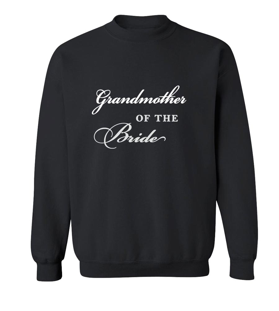 Grandmother Of The Bride Crew Neck Sweatshirt