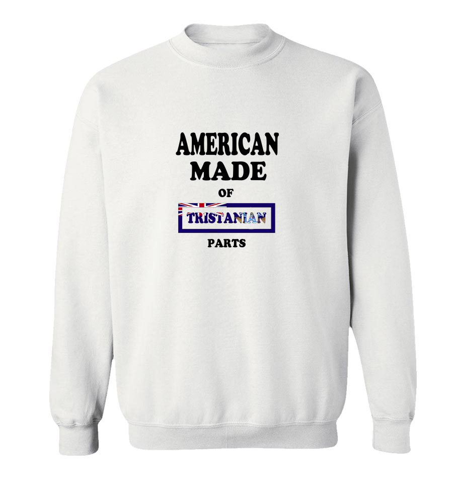 American Made Of Tristanian Parts Crew Neck Sweatshirt